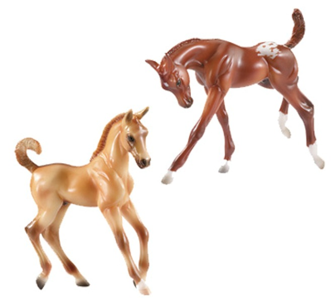 Breyer - Colorful Foals Play Set 2009