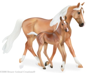 Breyer - Morgan Horse and Foal