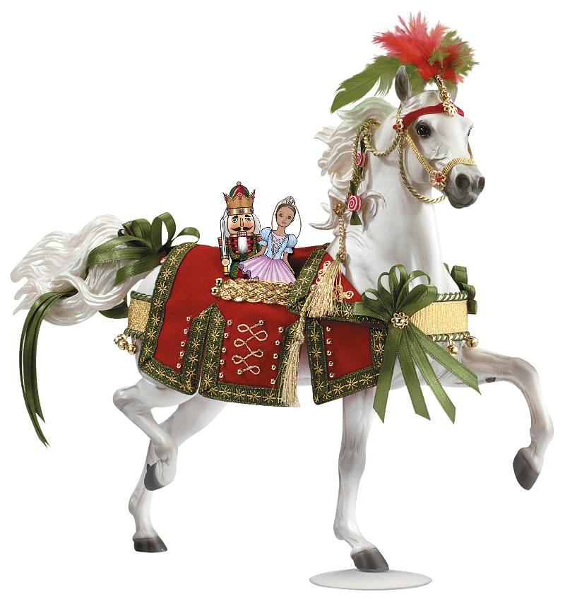 Breyer - Nutcracker Prince, 2009 Holiday Horse
