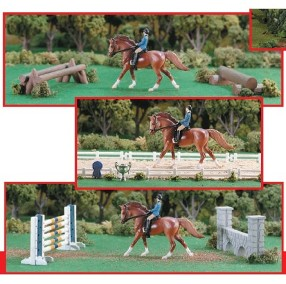 Breyer - Stablemates Eventing Play Set