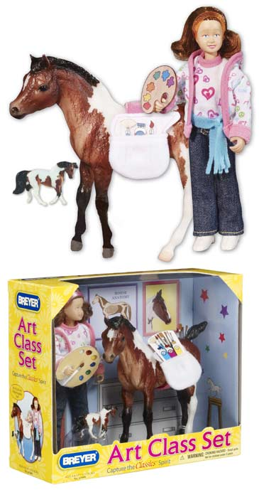 Breyer - Classic Pony Artist Set