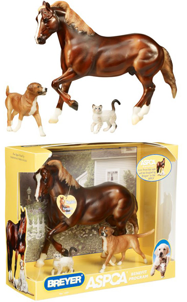 Breyer - ASPCA Benefit Animal Rescue Gift Set