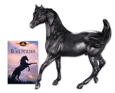 Breyer - The Black Stallion w/DVD