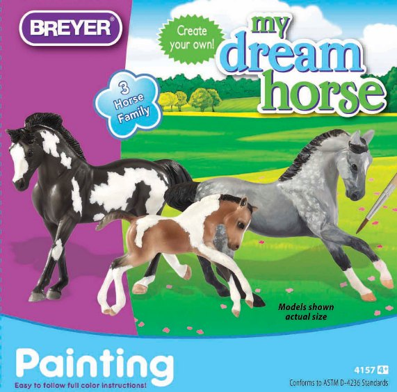 Breyer – Stablemates Horse Family Painting Kit