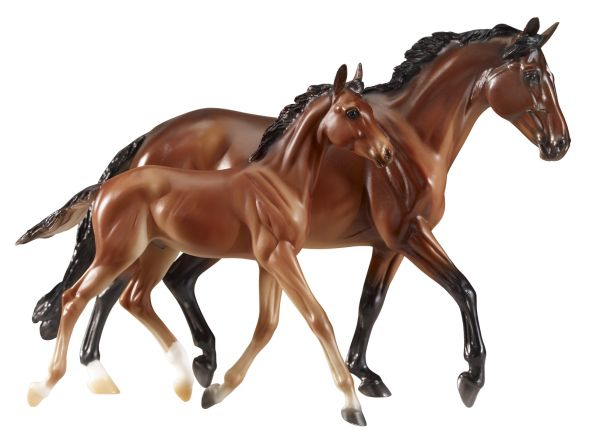 Breyer - GG Valentine and Heartbreaker