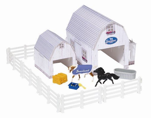 Breyer - Graceland Stable Play Set