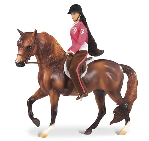 Breyer - NEW Let's Go English Riding Set