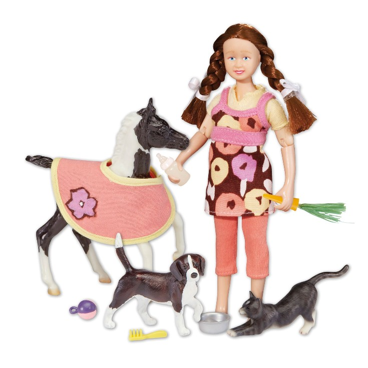 Breyer - Pet Sitter Doll & Foal Set