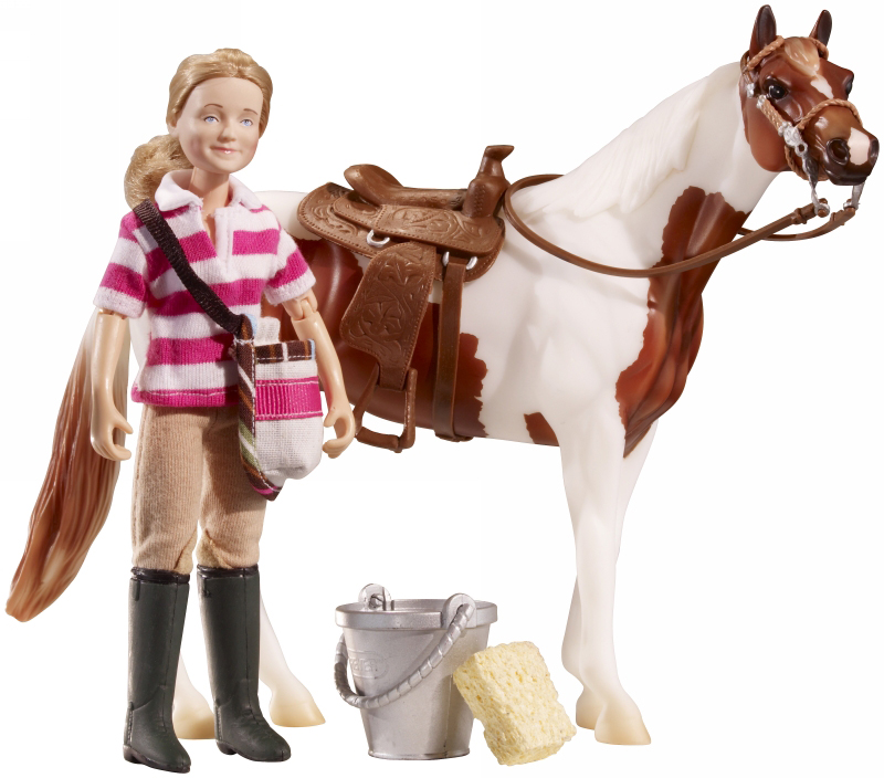 Breyer - Saddle Up Eva Classic Rider