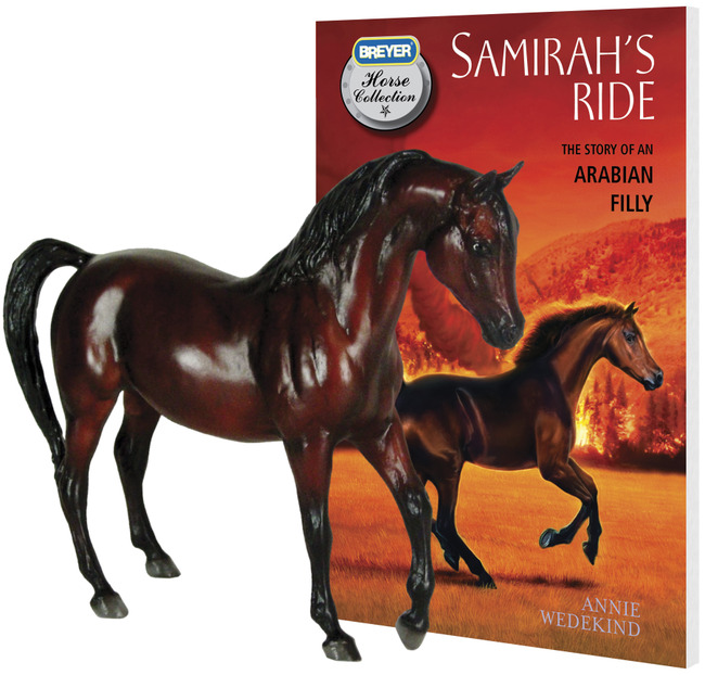 Breyer – Samirah w/Book