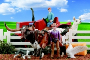 Breyer – Stablemates Tractor Play Set
